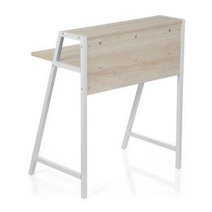 Computertisch / Schreibtisch 19571 Ahorn / Weiß