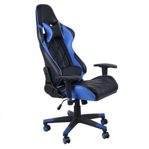 Rennstuhl Gaming Stuhl ergonomischer Bürostuhl liegend Computertisch und Stuhl