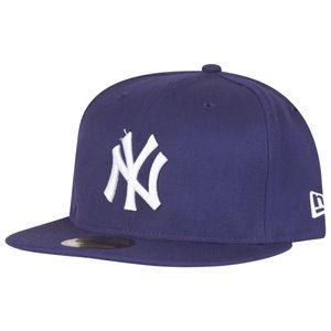 New Era - MLB New York Yankees Essential 59Fifty Cap - purple : 7 3/8 (58,7cm)