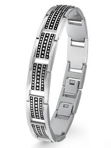 s.Oliver 2022639 Herren Armband Edelstahl Silber 21,5 cm