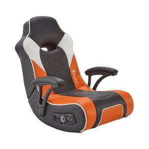 X Rocker G-Force 2.1 Gaming Sessel mit 2.1 Soundsystem in Orange/Schwarz