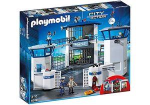 PLAYMOBIL Stadt Aktion: Die Polizei im Gefängnis (6919)