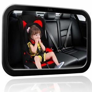 Rücksitzspiegel für Babys, Universal Autositz, Rückspiegel Baby Auto, Babyblume 34.5x20x5cm