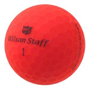 12 x Wilson Staff DX2 Soft Optix - PearlSelection - matt rot - Lakeballs