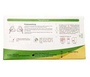 HOTGEN® Antigen-Test Kit Einzelverpackung Schnelltest Laientest für zu Hause gem. BfArM   Virus , Menge wählen:10 Stück