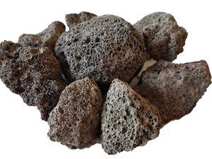 25 kg Lava Saunasteine 6-15 cm - Sauna Steine Aufgusssteine