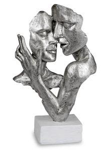 Formano Büste Paar auf Sockel Liebespaar Figur Poly 32 cm