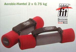 Aerobic Soft Hantel 2 x 0,75 kg von Bodycoach NEU undFitnesshanteln