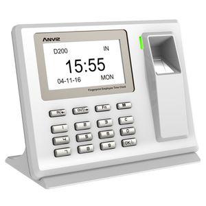Anviz D200 Zeiterfassungsterminal Fingerprint-Steuerung USB-Verbindung Zeit-, Schicht- und Taktsteuerung