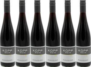 6x Gutswein Dornfelder lieblich 750ml 2017 – Weingut Kopp, Pfalz – Rotwein