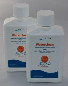 2x Waterclean Konditionierer Plus 250 ml Wasserbetten Stricker Chemie Wasserbett