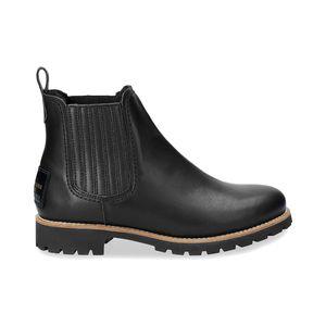 Panama Jack Brigitte Travelling Igloo Damen Chelsea Boot Stiefel Schwarz Schuhe, Größe:39