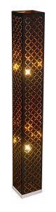 Globo Lighting CLARKE Stehleuchte nickel matt, 2xE27, 15229S2