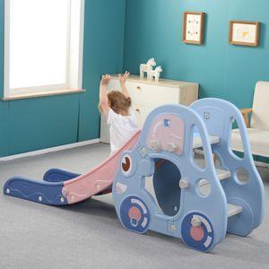 Avior Kids Autorutsche, Blau, Kinderrutsche Gartenrutsche