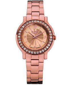 Elysee 28612 - Damenarmbanduhr Helena Edelstahl rosé vergoldet Quarz -  Germany