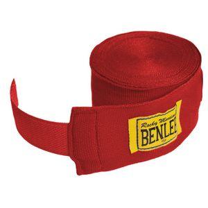 BENLEE Rocky Marciano Bandagen Unisex – Erwachsene Rot, Größe:300 cm