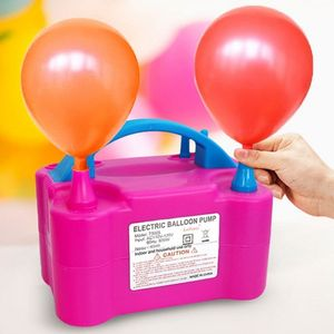 Ballonpumpe Elektrische Ballonaufblasgerät doppelt Aufblasgerät 600W