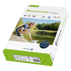 PAPYRUS A4 Papier 80g Recyconomic Pure White 500 Blatt