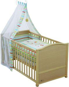 Komplettbett-Set inkl.Matratze und Kinderbettausstattung