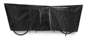 fahrrad-Schutzabdeckung Tandem 300 x 110 cm schwarz