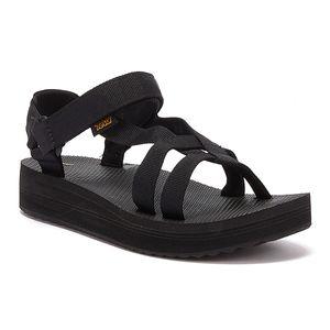 Teva Midform Arivaca Schwarze Damen Sandalen