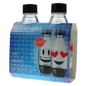 Sodastream 1748221310 2x PET-Kunststoffflasche 0,5 Liter fürTrinkwassersprudler