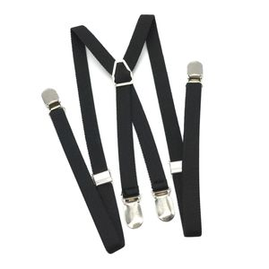 X-Typ Hosenträger Krallenclips mit 4 Clips für Herren
