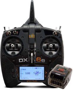 Spektrum DX6e RC Fernsteuerung 6-Kanal System mit AR620 Empfänger