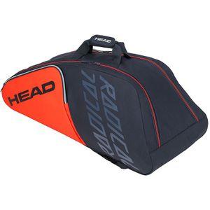 HEAD Radical 9R Supercombi Tennistasche Grau Orange
