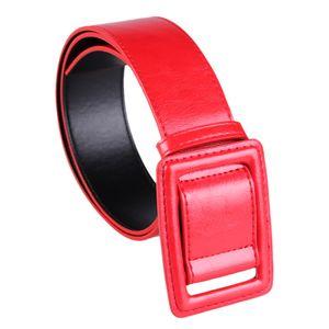 1 Stück Gürtel Farbe rot