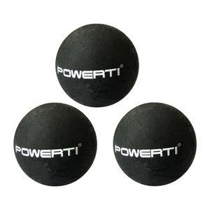 Gelbe Double Dot Professional Squash Balls   3er Pack