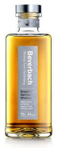 Beverbach Whiskey from Hardenberg Single Malt German Whiskey | 43 % vol | 0,7 l