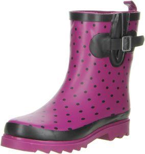 appetizer shoes Damen Stiefeletten Gummistiefeletten pflaume, Größe:41, Farbe:Pflaume