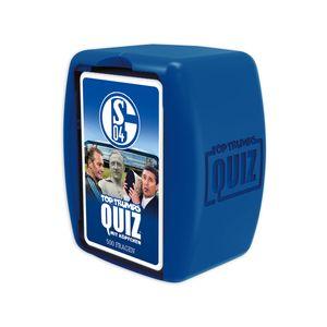 Top Trumps Quiz FC Schalke 04 Ratespiel Wissensspiel Fragespiel Gesellschaftsspiel