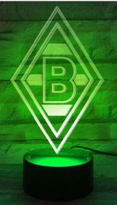 "Borussia Mönchengladbach LED-Lampe Nachtlicht ""Raute"""