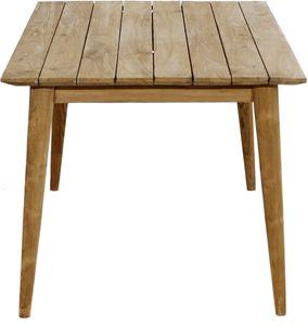 Wellington Design Loft Tisch Teak Braun