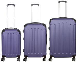 KoTaRu Avalon ABS-Koffer Reisekoffer Trolley versch. Farben, Farben:Blau, Grösse:M