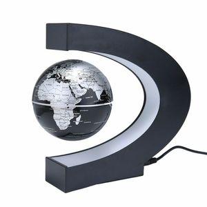ele ELEOPTION LED Magnetisch schwimmender Globus Weltkarte LED Nachtlicht Schwebekugel Floating Floater Earth Globe