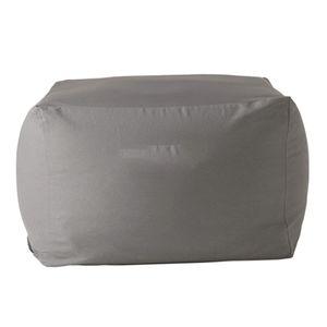 Sitzsackhülle ohne Füllung, Riesensitzsack  Sitzsack Bezug Hülle aus Polyester Farbe Dunkelgrau