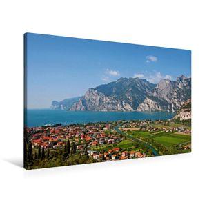 Calvendo  Textil-Leinwand 90 cm x 60 cm quer Ein Motiv aus dem Kalender Gardasee - lago di Garda by Sascha Ferrari, Ferrari Sascha; 7278763