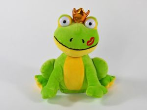 LABERTIER Frosch OTTO Frog plappert alles nach Plüschtier 18 cm