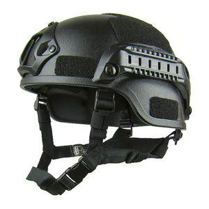 Airsoft Helm Paintball Helm Hard Memory Sponge 4 Farben Hutwanderung
