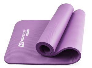 Hop-Sport Gymnastikmatte 1,5cm - rutschfeste Yogamatte für Fitness Pilates & Gymnastik  - Maße 183cm Länge 61cm Breite  - lila