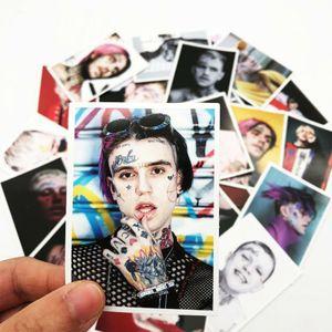 25 pcs Stickers Lil Peep Modeaufkleber für Skateboard Laptop Gepäck Kühlsc-Multicolor