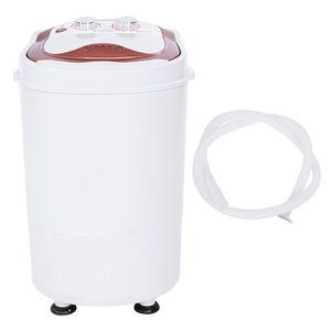 220V Mini tragbare Waschmaschine Vollautomatische Waschmaschine Spinner EU Plug