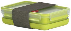 emsa Lunchbox CLIP & GO 1,20 Liter transparent / grün