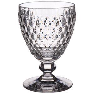 Villeroy & Boch Boston Weissweinglas 4 Stück Nr. 1172990030 und 4er Set EKM Living Edelstahl Strohhalme