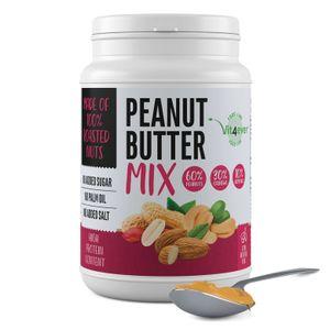 Vit4Ever - 100% Erdnussbutter (MIX) - Peanut+ Cashew + Almonds Butter 1000 g