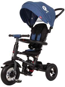 QPlay Rito Air Deluxe Dreiräder Kinder Junior Schwarz/Blau