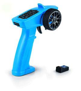 Carson RC Junior Reflex Wheel Start 2.4G Radio blau Fernsteuerung für kleine Hände